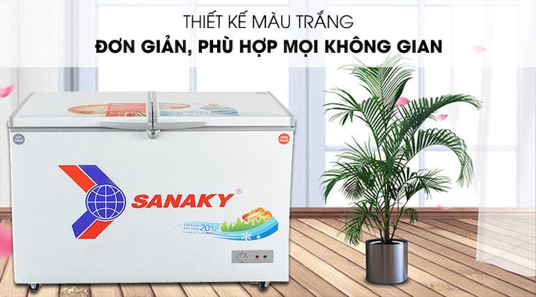 Lưu ý khi sử dụng tủ đông Sanaky vh3699w1