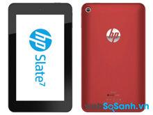 Đánh giá máy tính bảng HP Slate 7 giá mềm (Phần II)