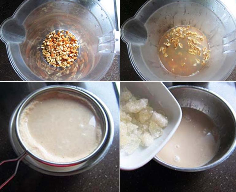 Cách làm sữa óc chó tươi ngon dễ làm tại nhà