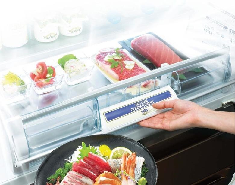 Công nghệ làm lạnh hiện đại tiết kiệm điện của tủ Hitachi
