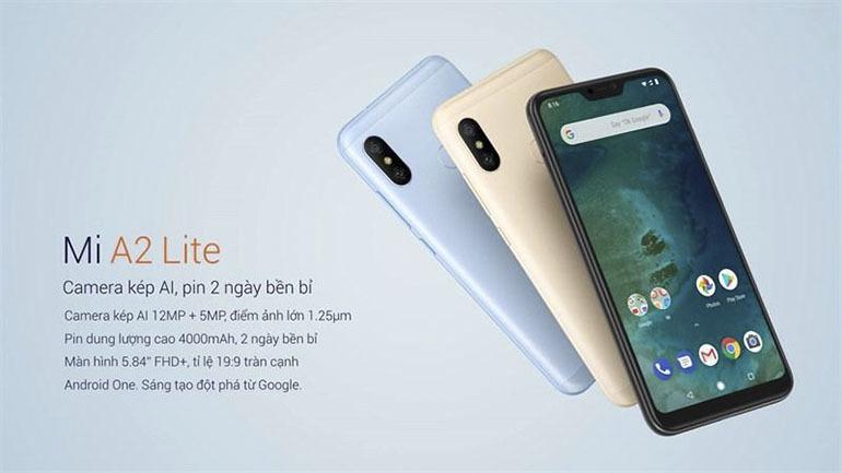 Điện thoại Xiaomi bất ngờ ra mắt Mi A2 và Mi A2 Lite: Nổi bật với thiết kế thời thượng