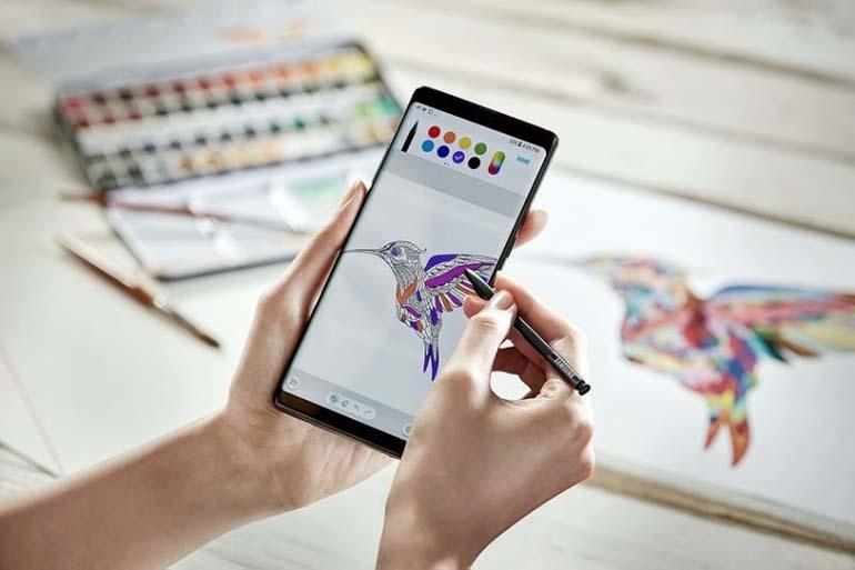 bút S Pen trên Galaxy Note 9 sẽ có nhiều chức năng thú vị