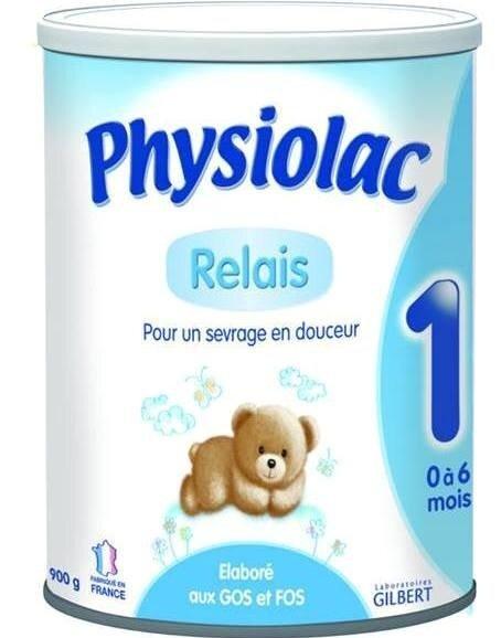Sữa bột Physiolac 1ER - hộp 900g (dành cho trẻ 0-6 tháng)