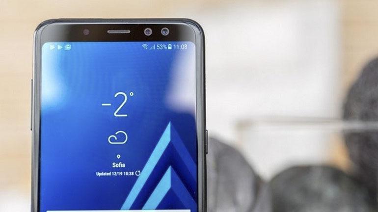 Đánh giá nhanh thiết kế màn hìnhSamsung Galaxy A6 2018