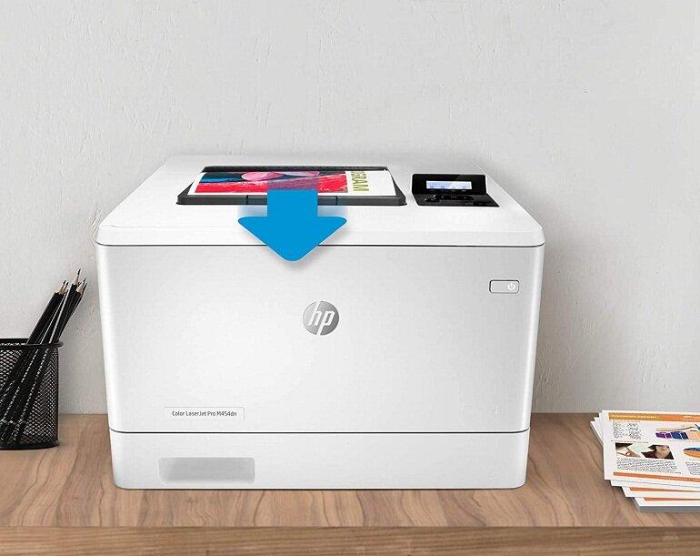 Máy in ảnh HP Color LaserJet Pro M454dn