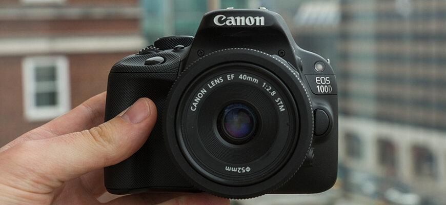 Máy ảnh Canon 100D giá tốt