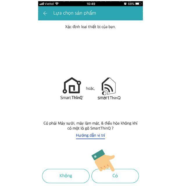 hướng dẫn điều khiển điều hòa wifi LG trên smartphone