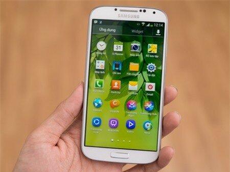 Màn hình Galaxy S4 rộng 5-inch, độ phân giải Full HD 1080p (1920x1080)