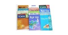 Bộ sách giáo khoa lớp 6 năm học 2018-2019 bao gồm những quyển gì? Giá bao nhiêu tiền?