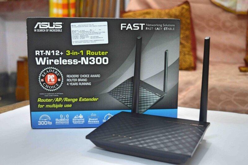 Bộ phát wifi Asus.