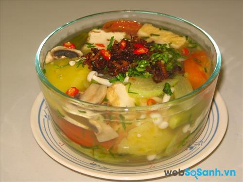 Canh chua chay