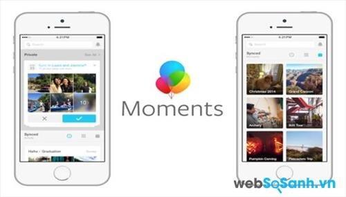 Ứng dụng chỉnh sửa ảnh Moments của Facebook: kết hợp 2 yếu tố nhỏ gọn và hữu dụng