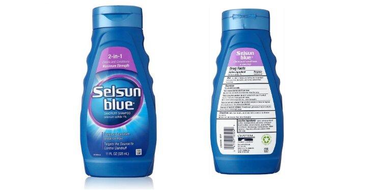 Dầu gội trị gàu của Mỹ Selsun Blue 2-in-1 Maximum Strength - Giá tham khảo khoảng 350.000 vnđ/ chai 325ml