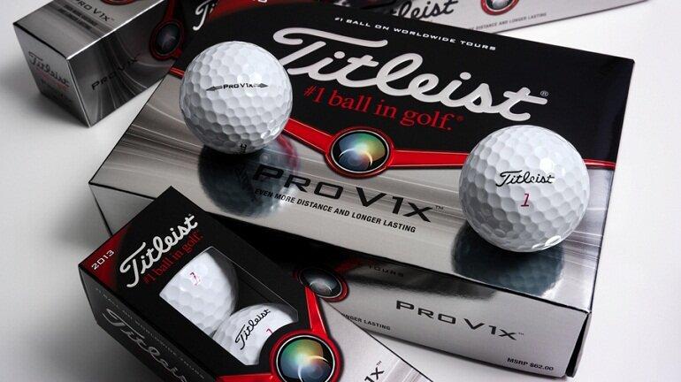 Bóng golf Pro V1 Bóng có độ bền cao và cảm bóng cực mềm mại.