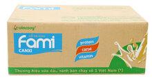 Uống nhiều sữa đậu nành có tốt không ?  Giá 1 thùng sữa đậu nành Fami bao nhiêu tiền ?