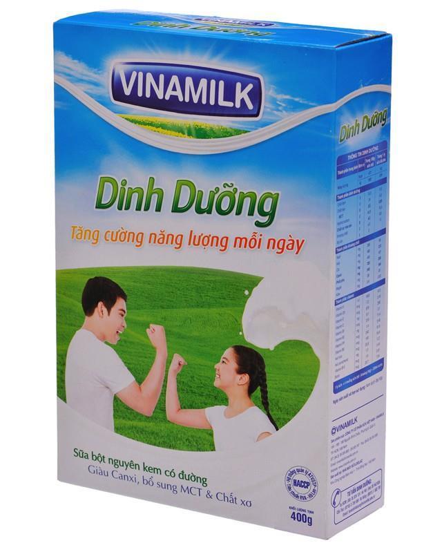Sữa bột nguyên kem có đường Vinamilk Dinh Dưỡng