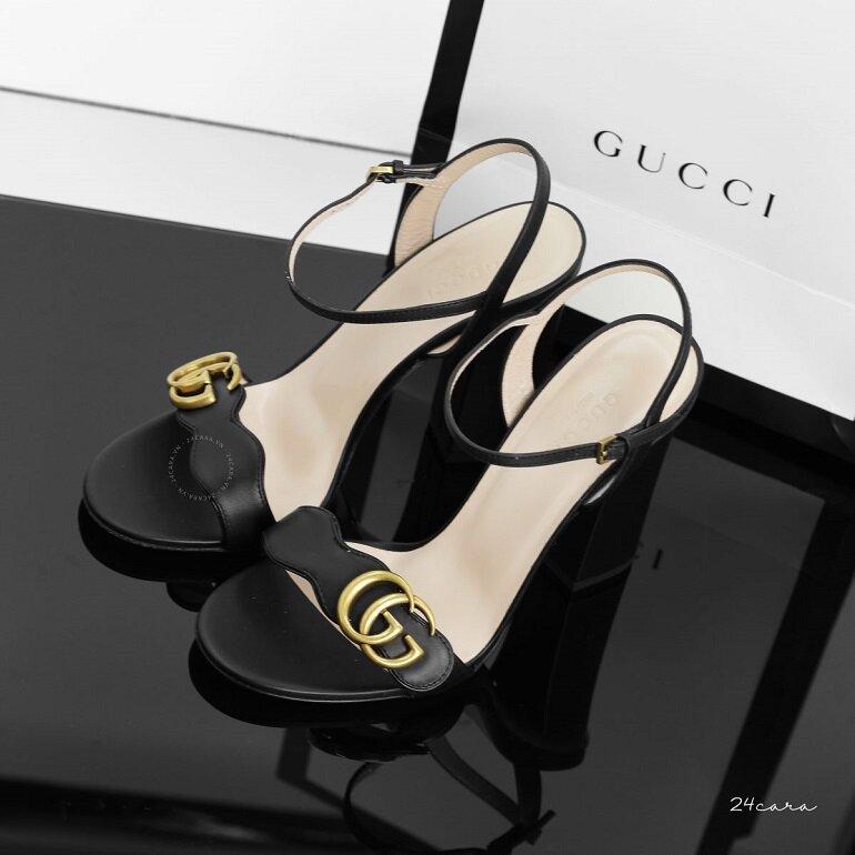 giày sandal cao gót hàng hiệu