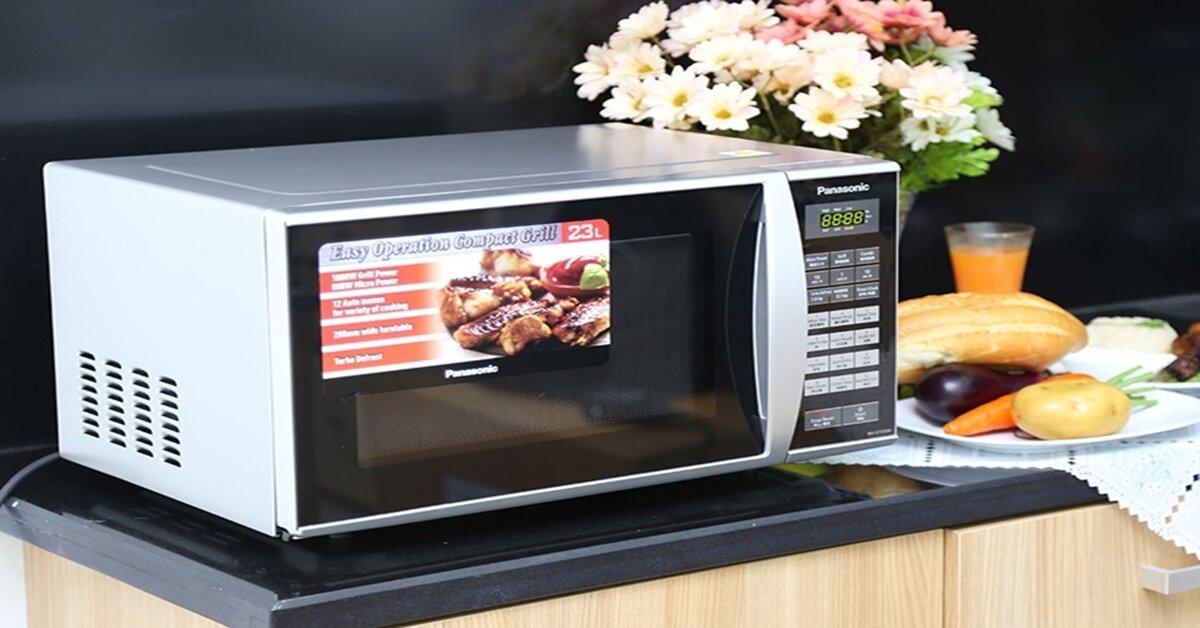 Ưu điểm của lò vi sóng Panasonic NN-GT353M có bảng điều khiển điện tử