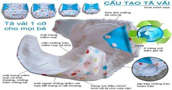 Ưu điểm và nhược điểm của tã vải cho bé