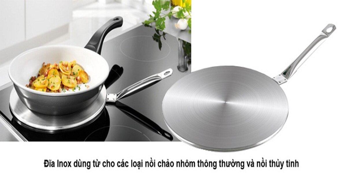 Ưu nhược điểm của đĩa chuyển nhiệt bếp từ – Có nên dùng đĩa chuyển nhiệt bếp từ ?