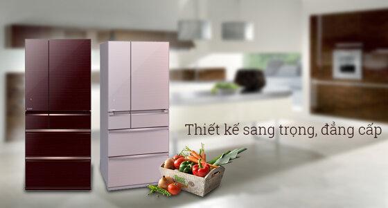 Ưu nhược điểm tủ lạnh ngăn đá lớn Mitsubishi, Toshiba