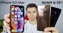 So sánh sự khác biệt giữa hai chiếc Flagship đình đám iPhone Xs Max và Samsung Galaxy Note 9
