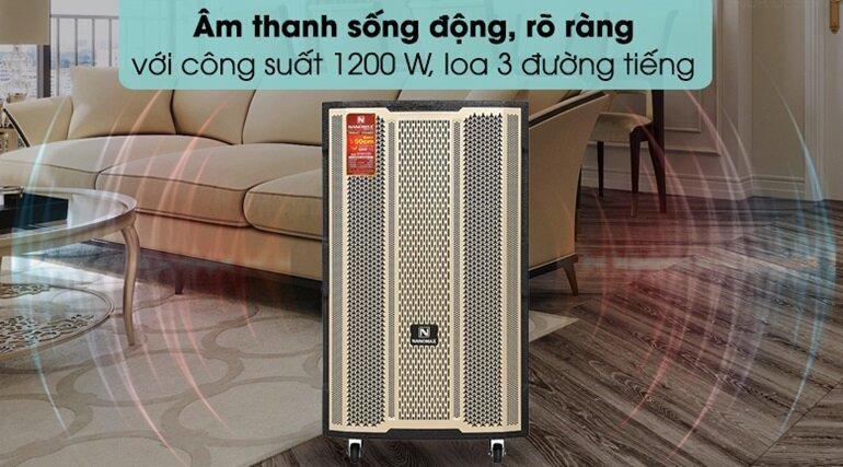 loa kéo karaoke nanomax s-300