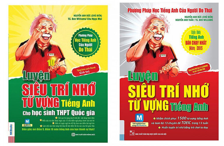 Luyện Siêu Trí Nhớ Từ Vựng Tiếng Anh là cuốn sách giới thiệu phương pháp học hòa trộn giữa tiếng Anh và tiếng Việt