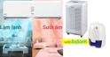 So sánh khả năng hút ẩm, xử lý nồm, mốc của điều hòa 2 chiều, máy hút ẩm và máy hút ẩm mini