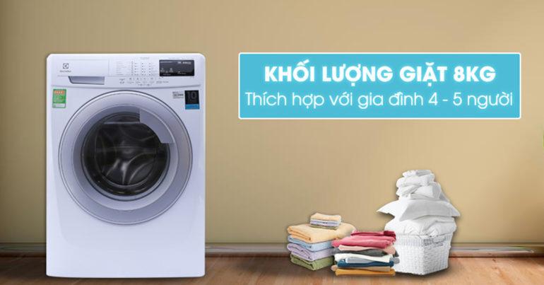 Review máy giặt Electrolux Inverter 8 kg EWF10844 dùng có tốt không ?
