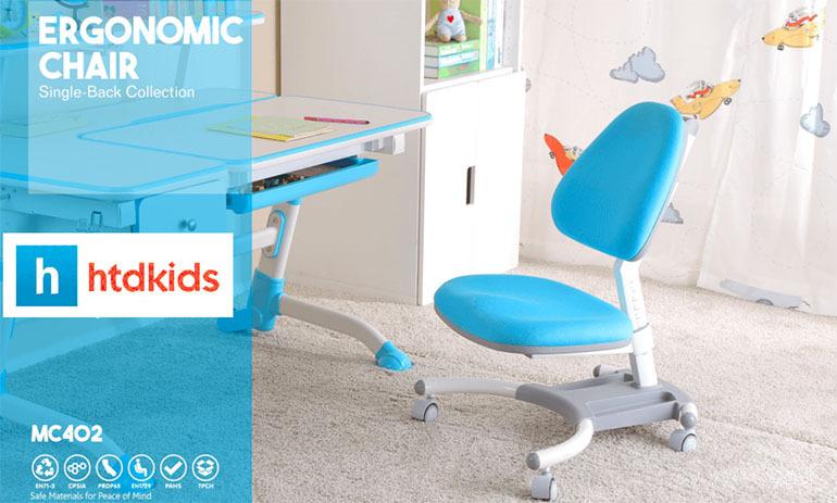 Ghế chống gù điều chỉnh độ cao thông minh giúp bé thoải mái nhất khi ngồi học
