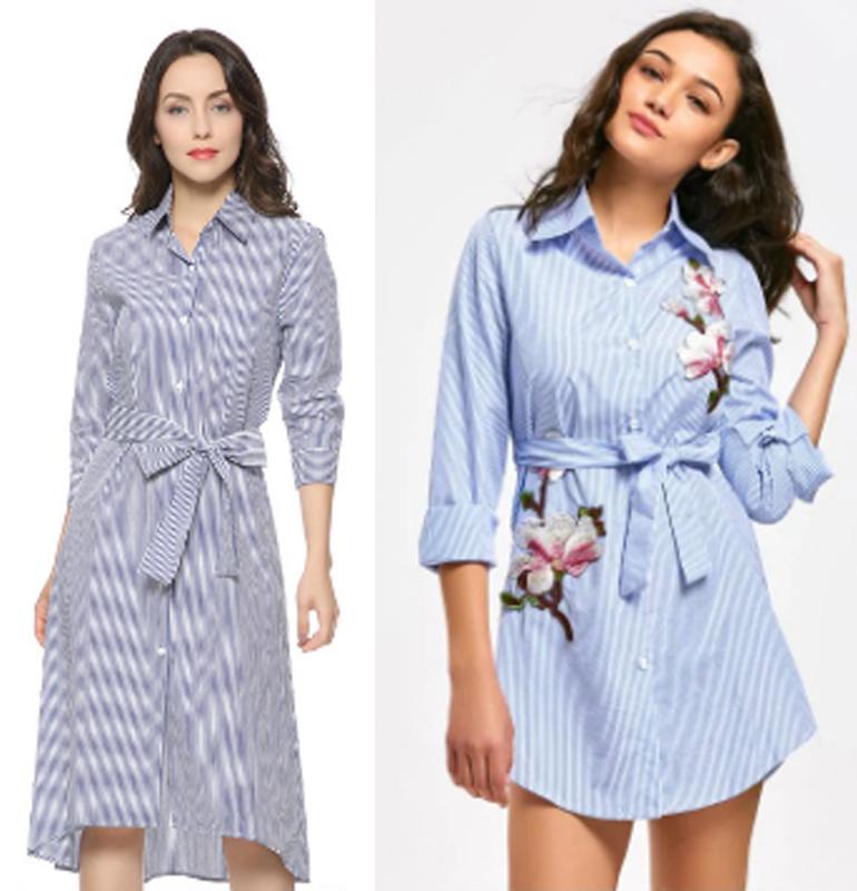 Váy cotton giản dị