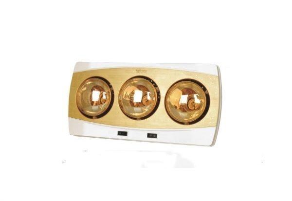 Đèn sưởi nhà tắm Kottmann K3NV - 3 bóng