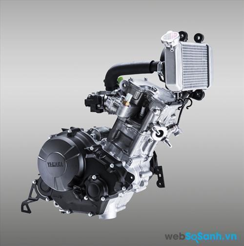 Động cơ trên Yamaha Exciter 150
