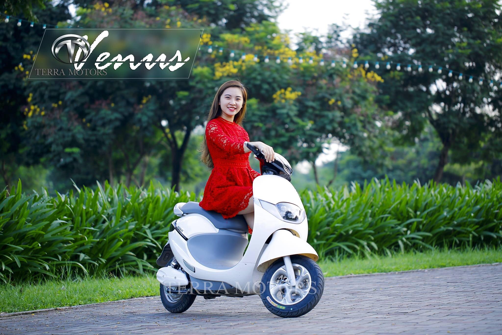 Xe máy điện Terra Motors Venus