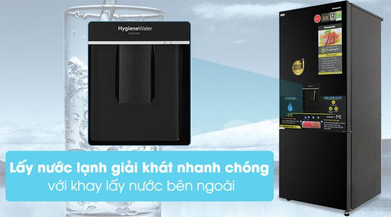 tủ lạnh Panasonic Inverter 377 lít NR-BX421GPKV 2021