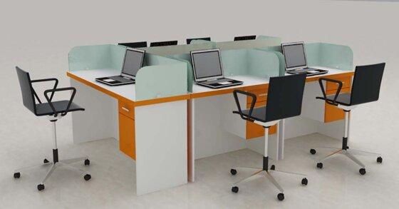 Vách ngăn bàn làm việc: lựa chọn thông minh để tối ưu hóa không gian văn phòng