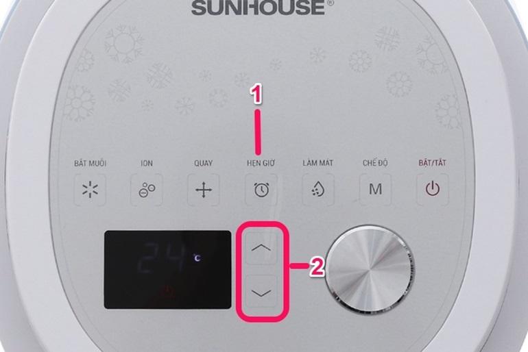 quạt điều hòa shd7718 sunhouse