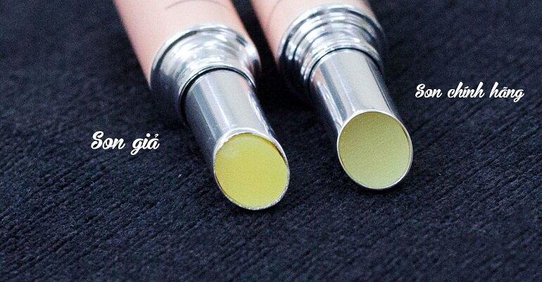 4 cách phân biệt son dưỡng DHC Lip Cream giả và thật