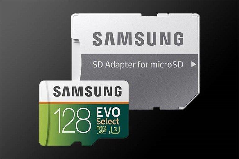 samsung evo select 128gb u3 class 10