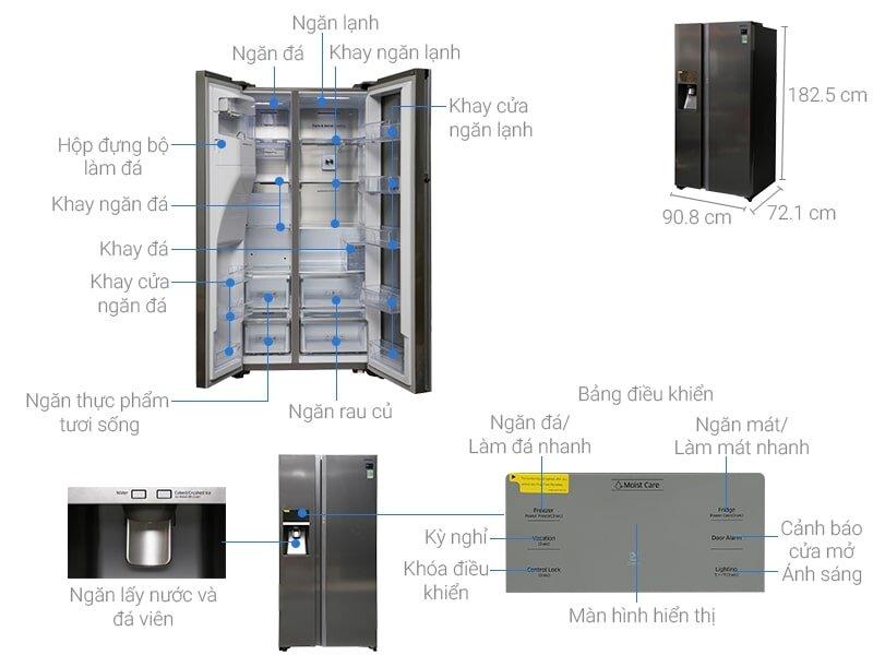 Tủ lạnh LG cũng nằm trong danh sách được nhiều khách hàng quan tâm