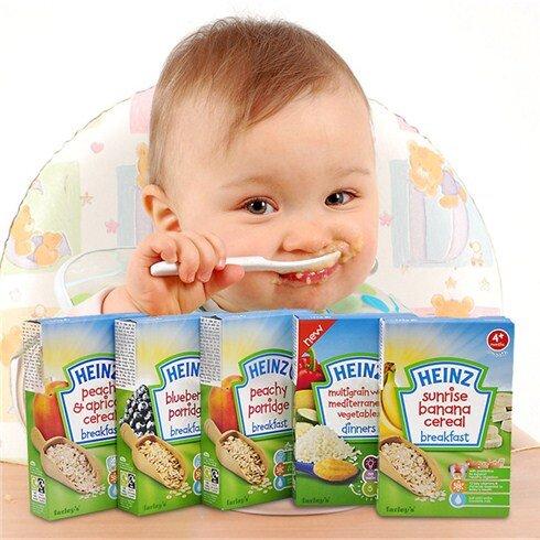 Vì sao mẹ nên chọn bột ăn dặm Heinz cho bé?