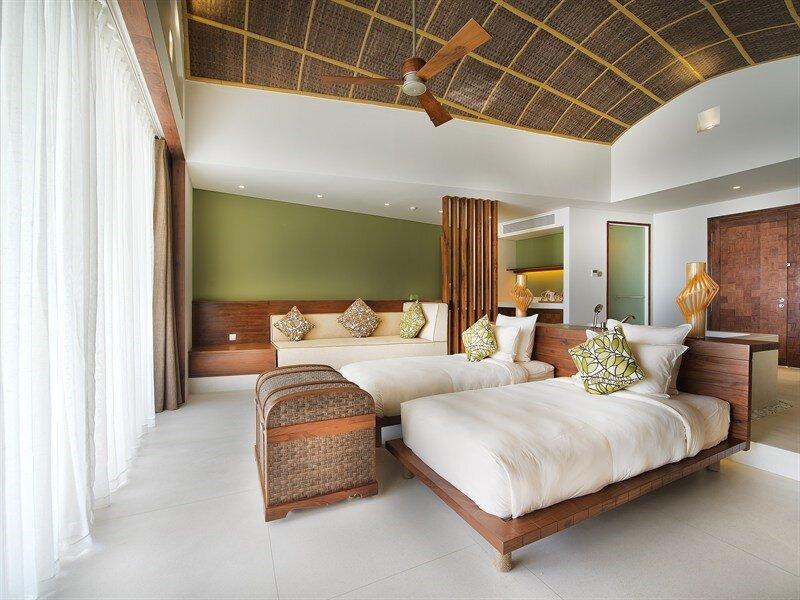 Vì sao nên chọn quạt trần trang trí cho phòng ngủ ?