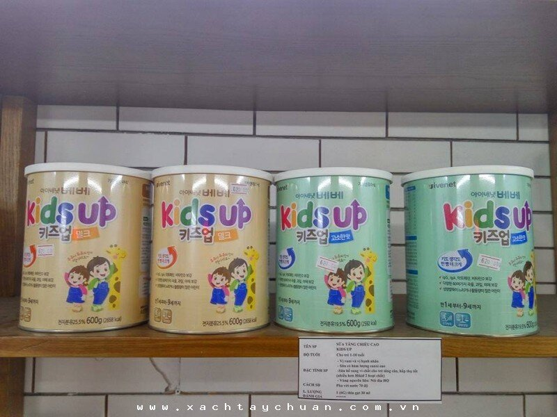 Vì sao nên chọn sữa bột Kids Up cho bé?