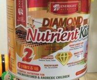 Vì sao nên chọn sữa bột Diamond Nutrient Kid cho bé biếng ăn, nhẹ cân?