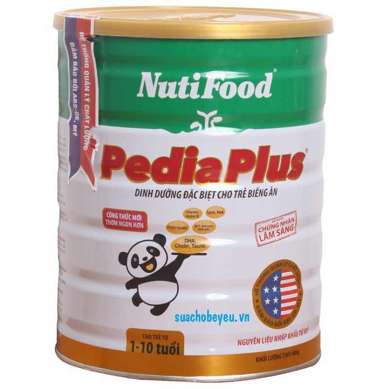Vì sao nên chọn sữa bột Nutifood Nuti PediaPlus cho trẻ biếng ăn?
