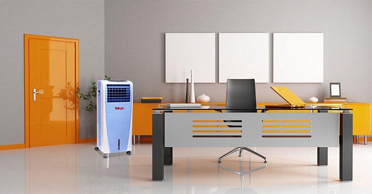 Vì sao nên dùng quạt điều hòa không khí cho văn phòng?