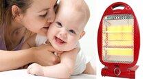 Vì sao phải sử dụng đèn sưởi phòng ngủ cho bé?