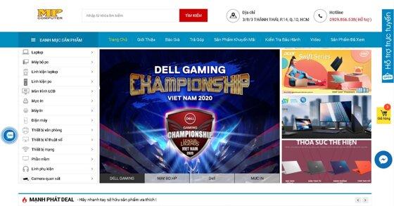 Vi tính Mạnh Phát: Địa chỉ mua sắm máy tính, linh kiện PC hàng đầu Tp. Hồ Chí Minh
