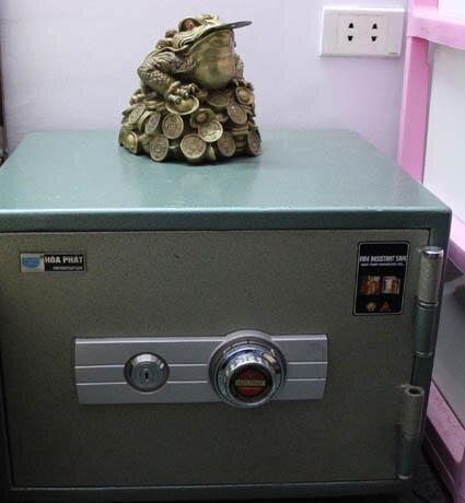 Vị trí đặt két sắt theo đúng phong thủy cho tiền bạc dồi dào